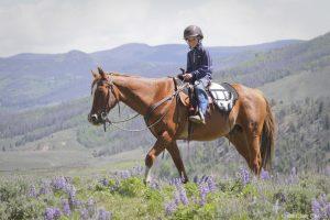 C Lazy U Ranch barn på hest ranchferie Cowboyreiser