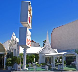 The Little White Chapel i Las Vegas