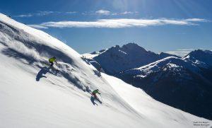 Eric Berger Whistler Blackcomb skiferie Cowboyreiser
