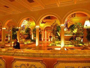 Resepsjonen til Bellagio i Las Vegas