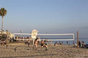California strand spille volleyball
