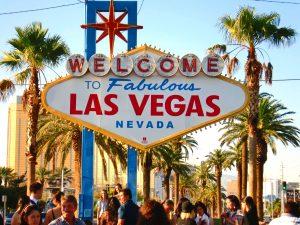 Det berømte Las Vegas skiltet